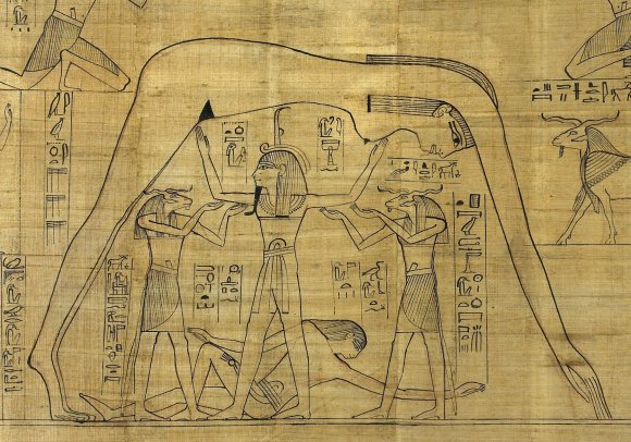 The ancient Egyptian cosmos