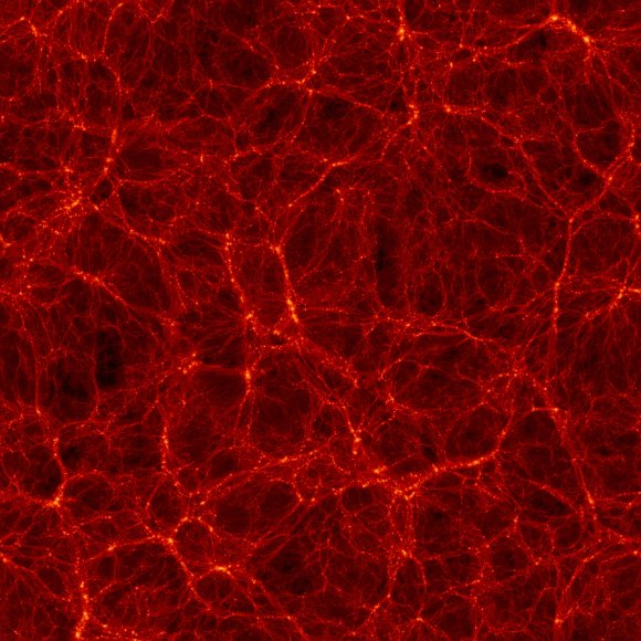 The Bolshoi simulation--one billion light-years across