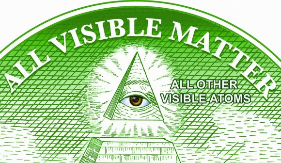 The Eye of the Pyramid of All Visible Matter