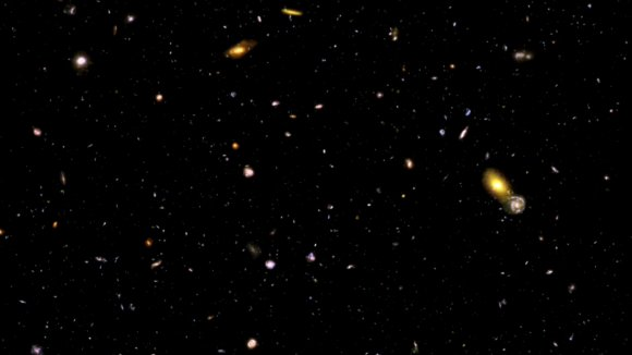 Zooming in to the Hubble Ultra Deep Field